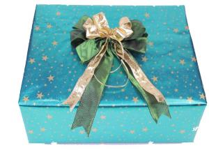 Geschenkpapier-Set Sterne grün