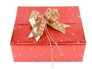 Geschenkpapier-Set Sterne rot