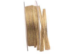 Goldbändchen 6mm ohne Draht