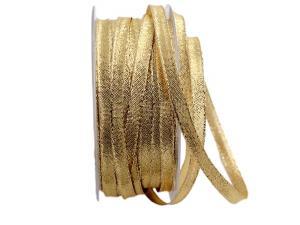 Goldbändchen Goldband 8mm mit Draht