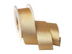 Goldband Brokat 40mm ohne Draht