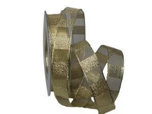 Goldband Normen gold 25mm mit Draht