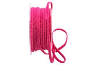 Gummiband 5mm waschbar 20m lang pink