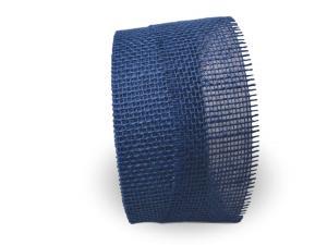 Jute blau ohne Draht 70mm