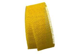 Jute gelb ohne Draht 70mm