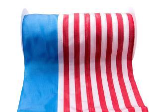 Nationalband USA 240mm rot / blau / weiß ohne Draht