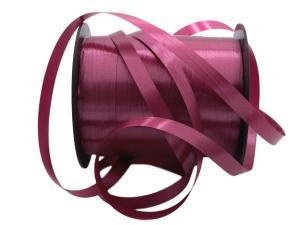 Polyband Bordeaux ohne Draht 5mm
