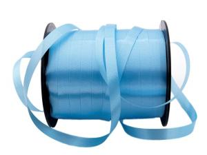 Polyband Hellblau ohne Draht 10mm