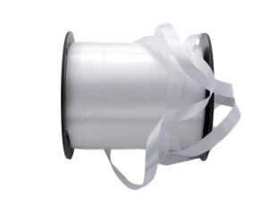 Polyband Weiß ohne Draht 10mm