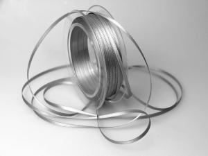 Satinbändchen Grau ohne Draht 3mm im Bänder Online-Shop günstig kaufen