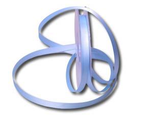 Satinbändchen Hellblau ohne Draht 10mm