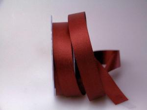 Satinband bordeaux ohne Draht 25mm
