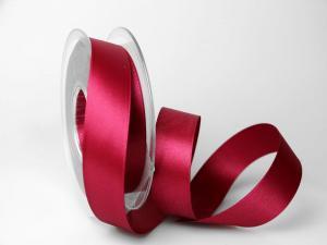 Satinband 25mm pink ohne Draht