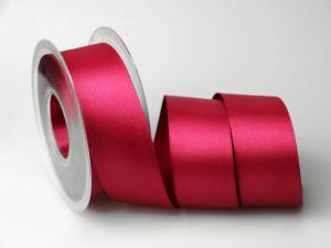 Satinband 40mm pink ohne Draht