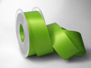Satinband Hellgrün ohne Draht 40mm