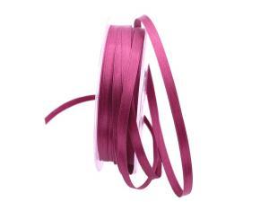 Satinband lila / beere 6 mm ohne Draht - Geschenkband günstig online kaufen!