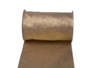 Tischband Brokat Gold ohne Draht 160mm