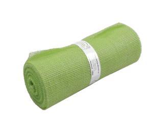 Tischband Jute mintgrün ohne Draht 300mm