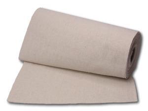 Tischband Leinenband 230mm natur ohne Draht - im Bänder Großhandel günstig kaufen!
