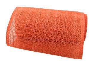 Tischband Madrid 22cm orange ohne Draht