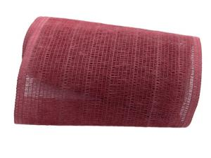 Tischband Madrid 22cm rubinrot ohne Draht
