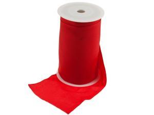 Tischband Uniband Rot 160mm ohne Draht