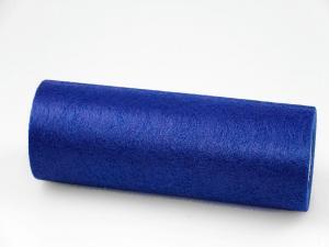 Tischband Vlies Blau ohne Draht 230mm