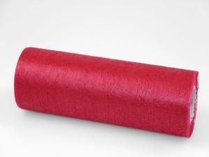 Tischband Vlies Bordeaux ohne Draht  230mm