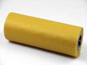 Tischband Vlies Gelb ohne Draht 230mm