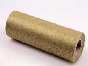 Tischband Vlies Gold ohne Draht 230mm