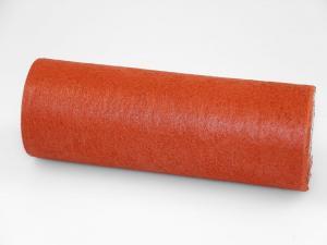 Tischband Vlies Hellbraun ohne Draht ca. 230mm