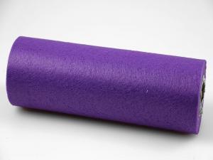 Tischband Vlies Lila ohne Draht 230mm