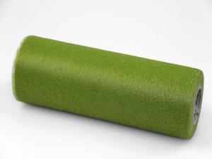 Tischband Vlies Olive ohne Draht. 230mm