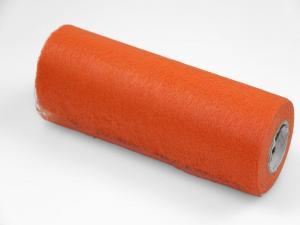 Tischband Vlies Orange ohne Draht 230mm