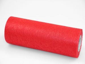 Tischband Vlies Rot ohne Draht  230mm