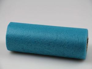 Tischband Vlies Türkis ohne Draht 230mm