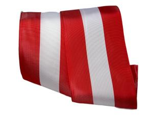 Uni Nationalband Österreich rot /weiß / rot 130mm ohne Draht