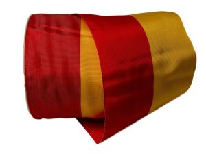 Uni Nationalband Spanien rot / gelb 115mm ohne Draht