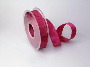 Uniband Bischof/Pink mit Draht 25mm