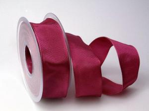 Uniband Bischof/Pink mit Draht 40mm