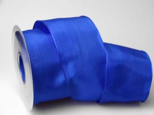 Uniband Blau mit Draht 70mm