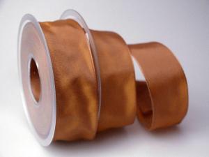 Uniband Braun mit Draht 40mm
