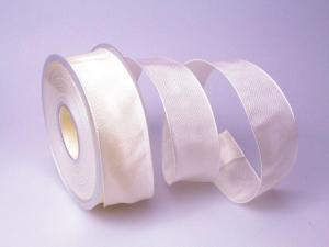 Uniband Creme mit Draht 40mm