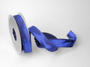 Uniband Dunkelblau mit Draht 25mm