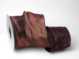 Uniband Dunkelbraun mit Draht 70mm