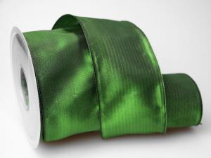 Uniband Dunkelgrün mit Draht 70mm