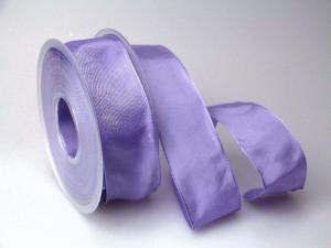 Uniband Flieder mit Draht 40mm