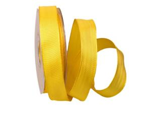 Uniband gelb 25mm mit Draht BASIC
