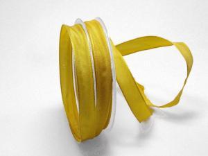 Uniband Gelb mit Draht 15mm