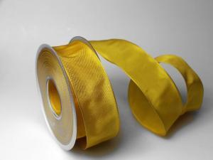 Uniband Gelb mit Draht 40mm